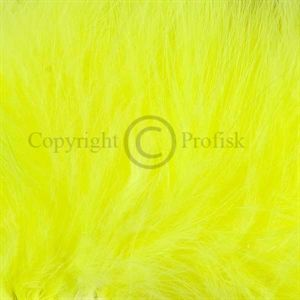 Wooly Bugger Marabou Fl.Yellow