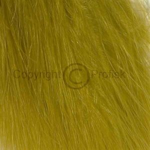 Wooly Bugger Marabou Yellow Olive