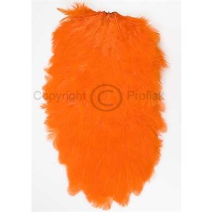 Whiting Hen Saddle Hot Orange