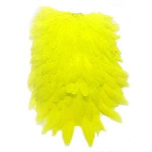 FF Signature Hen Saddle FL.Yellow/Chartreuse