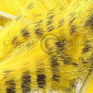 Black Barred Mag. Strips 6 mm. Yellow
