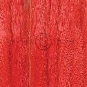 Rabbit Zonker Strips 3 mm. Fl. Fire Orange