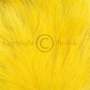 Rabbit Zonker Strips 3 mm. Yellow