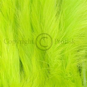 Rabbit Zonker Strips 3 mm. Chartreuse Green