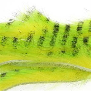 Tiger Barred Strips 3 mm.Black/Chartreuse/Fl.Yello