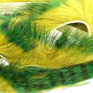 Tiger Barred Strips 3 mm. Green/Brown/Olive