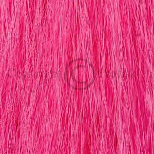 Synthetic Yak Hair Hot Pink