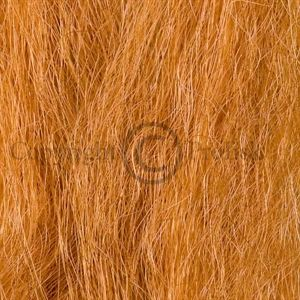 Synthetic Yak Hair Rusty Amber