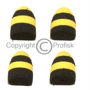 Foam Poppers S Black/Yellow
