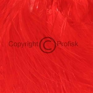 Blood Quill Marabou Fluo Red